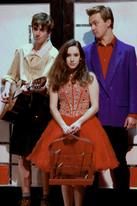 Will Kast as Wiggy, Cara Parker as Mary, & Atticus Shaindlin as Theo /photo Tanna Herr