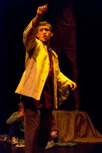 Jackson Wylder as Van Gogh/photo by Rob Wilen